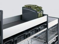fahrzeugeinrichtungen - vario modul mit kanisteraufbewahrung